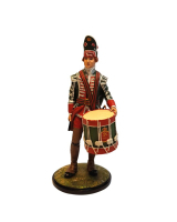 AS90 24 Drummer 51st Regiment of Foot 1759 Painted