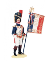 NF 03B Eagle-Bearer French Line Infantry Full Dress 1807-1812 Painted