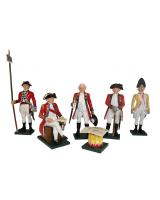 201 Toy Soldiers Set British Generals Painted