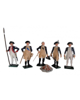 0250 Toy Soldiers Set American Generals Painted