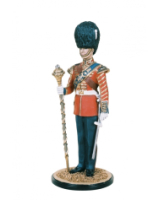 DM90 01 Drum Major Grenadier Guards Parade Dress Painted
