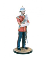 DM90 03 Drum Major Princes Patricias Canadian Light Infantry Painted