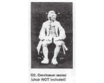 G02 - Gentleman seated (figure only) - Unpainted