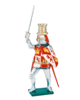 K22 Toy Soldier Set King Pedro of Castille Painted