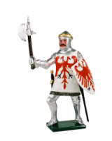 K40 Toy Soldier Set Jean de Boucicaut Painted
