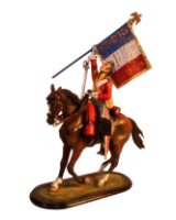 M54 47 The Captive eagle Waterloo 1815 Painted
