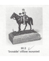 H012 - Ironside Officer Mounted - Unpainted