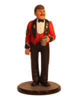Sqn80 098 Sergeant D. Edwards R.W.F. Mess Dress circa 1980 Painted