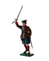 0561 Toy Soldier Set Highland Clansman Painted