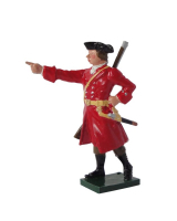 0562 Toy Soldier Set General Wolfe Painted