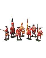 0601 Toy Soldiers Set British Infantry Painted