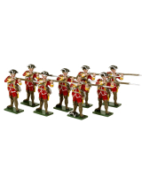 0603 Toy Soldiers Set British Infantry Painted