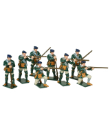 0612 Toy Soldiers Set Rogers Rangers action Painted