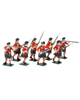 0613 Toy Soldiers Set 42nd Highland Regiment of Foot Painted