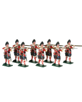 0616 Toy Soldiers Set Grenadier Company 42nd Highland Regiment of Foot Painted