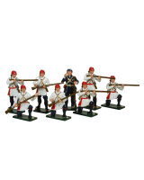 621 Toy Soldiers Set Compagnies Franches de la Marines Painted