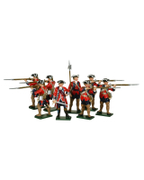 0622 Toy Soldiers Set The Royal American Regiment Painted