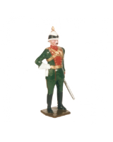 0048 1 Toy Soldier Officer Duke of Connaught's Own Bombay Lancers Kit