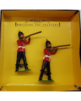 8814 Nottingham and Derbyshire Regiment Standing Firing Painted
