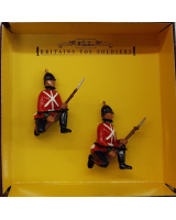8817 Nottingham and Derbyshire Regiment Kneeling At the ready Painted