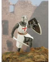 MK-004-TA Knight templar Painted
