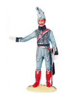 NF 13B Officer Campaign Dress French Hussars 1807-1812 Painted