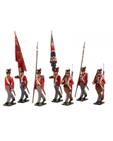0764 Toy Soldiers Set British Foot Guards Painted