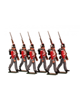 0766 Toy Soldiers Set British Foot Guards Painted