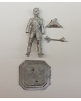 75/04 Model Soldier - French Chef de Bastaillon en tenue de service 1804-08 - Unpainted