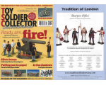 Toy Soldier Collector Magazine Issue 93 - Ready, aim fire - Bill Hocker Toy Soldiers, Past and Present