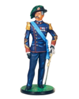 RC90 098 Lieutenant Bersaglieri Regiments Painted