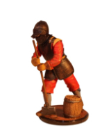Sqn80 059 Engineer Seige Armour English Civil War circa 1650 Kit