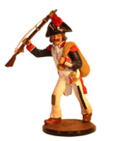Sqn80 063 Private French Revolution 1793 Painted