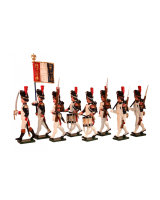 0768 Toy Soldiers Set French Grenadiers of the Guard, Head of Column Painted