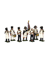 0747 Toy Soldiers Set French Imperial Guard Grenadiers Painted