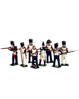 0748 Toy Soldiers Set French Imperial Guard Grenadiers Painted