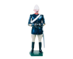 045 1 Toy Soldier Officer Mountain Artillery Battery 1900 Kit