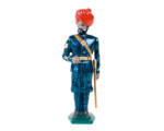 0045 2 Toy Soldier Sergeant Mountain Artillery Battery 1900 Kit