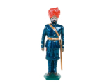 045 3 Toy Soldier Gunners Mountain Artillery Battery 1900 Kit