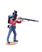 T54 184 Private Firing British Infantry 1815 Painted