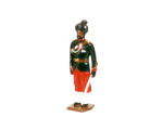 0032 1 Toy Soldier Officer 29th Bombay Infantry 2nd Baluchis 1890 Kit