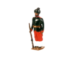 0032 2 Toy Soldier Private 29th Bombay Infantry 2nd Baluchis 1890 Kit