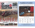 Toy Soldier Collector Magazine Issue 94 - Rise of an Empire First Legion, previews and news
