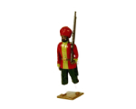 008 2 Toy Soldier Private 15th Bengal Infantry Ludhiana Sikhs 1890 Kit
