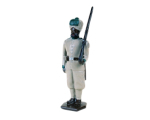 0033 2 Toy Soldier Private at attention 29th Punjab Infantry Kit
