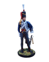 RC90 012A Hussar Officer In busby 1806-1815 Painted