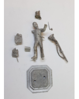 75/23 Model Soldier - British 71st Highland Light Infantry or 27th Inniskilling Private, standing firing - Unpainted