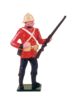 519 Toy Soldier Set 24th Regiment of Foot Painted
