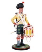 AS90 17 Drummer 92nd Foot Gordon Highlanders 1815 Kit