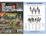 Toy Soldier Collector Magazine Issue 95 - Victory in Japan King and Country and VJ Day